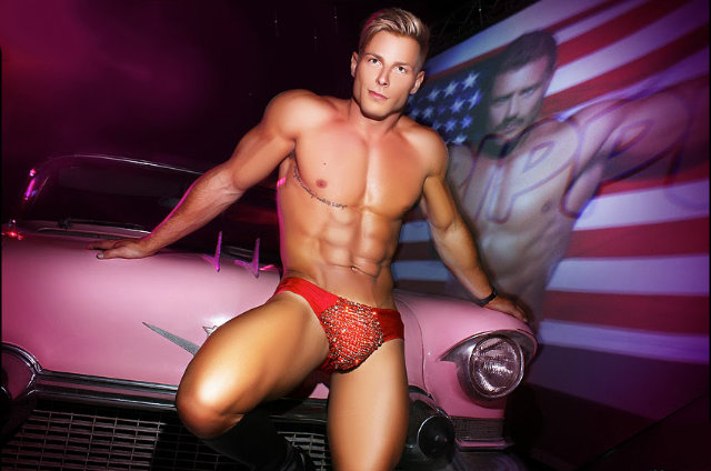 Hot men marketing cars