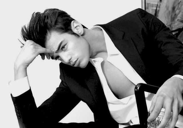 Scott Gardner model in LA